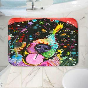 Decorative Bathroom Mats | Dean Russo - Saint Bernard Dog