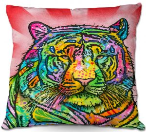 Throw Pillows Decorative Artistic | Dean Russo Tiger