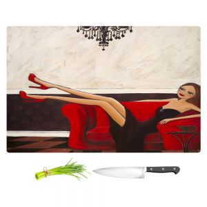 Artistic Kitchen Bar Cutting Boards | Denise Daffara - A Night To Remember