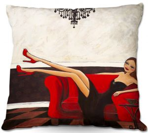 Throw Pillows Decorative Artistic | Denise Daffara's A Night To Remember