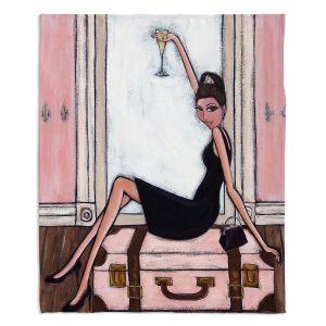 Decorative Fleece Throw Blankets | Denise Daffara - Bonjour