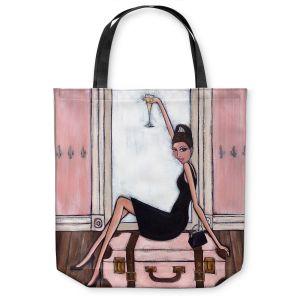 Unique Shoulder Bag Tote Bags | Denise Daffara Bonjour