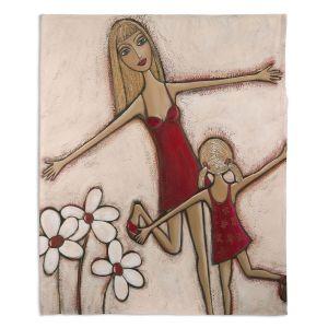 Decorative Fleece Throw Blankets | Denise Daffara - Happy Holidays