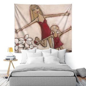 Artistic Wall Tapestry | Denise Daffara Happy Holidays