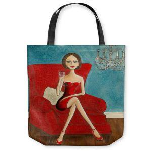 Unique Shoulder Bag Tote Bags   Denise Daffara Little Red Dress