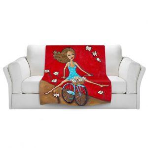 Artistic Sherpa Pile Blankets | Denise Daffara One Fun Spring Day