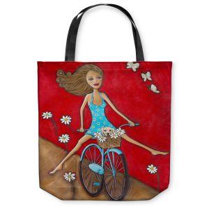 Unique Shoulder Bag Tote Bags   Denise Daffara One Fun Spring Day