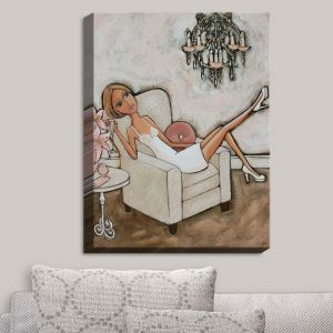 Decorative Canvas Wall Art | Denise Daffara - Pink Lily