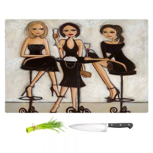 Artistic Kitchen Bar Cutting Boards | Denise Daffara - Trois Petite Robes Noires