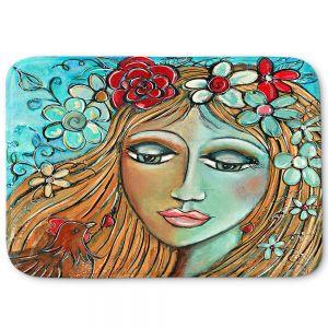 Decorative Bathroom Mats | Denise Daffara - Whispers On A Summers Breeze