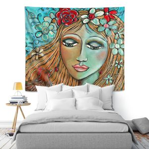 Artistic Wall Tapestry | Denise Daffara Whispers On A Summers Breeze