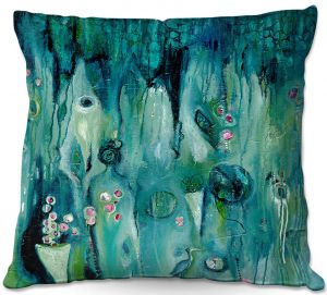 Decorative Outdoor Patio Pillow Cushion | Denise Daffara - Beyond Shadows