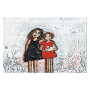 Decorative Floor Covering Mats | Denise Daffara - Couldnt Love Her More | Mom and Daughter