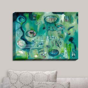 Decorative Canvas Wall Art   Denise Daffara - Lightness Meets Death   Abstract Shapes