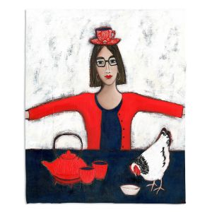 Decorative Fleece Throw Blankets | Denise Daffara - No Ordinary Tea | Afternoon Tea