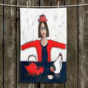 Unique Hanging Tea Towels | Denise Daffara - No Ordinary Tea