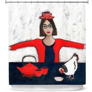 Premium Shower Curtains | Denise Daffara - No Ordinary Tea