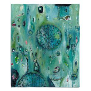 Decorative Fleece Throw Blankets | Denise Daffara - Windows To Another World