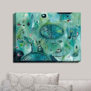 Decorative Canvas Wall Art | Denise Daffara - Windows To Another World | Abstract Shapes