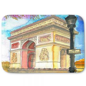 Decorative Bathroom Mats | Diana Evans - Arc de Triomphe Paris