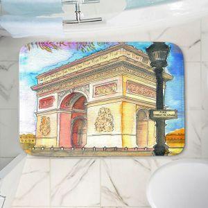 Decorative Bathroom Mats | Diana Evans - Arc de Triomphe Paris