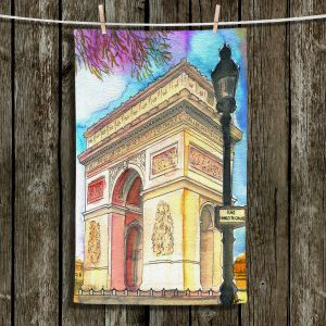 Unique Bathroom Towels | Diana Evans - Arc de Triomphe Paris