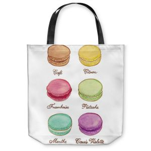 Unique Shoulder Bag Tote Bags   Diana Evans Laduree Macaroons I