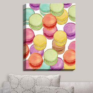 Decorative Canvas Wall Art   Diana Evans - Laduree Macaroons II