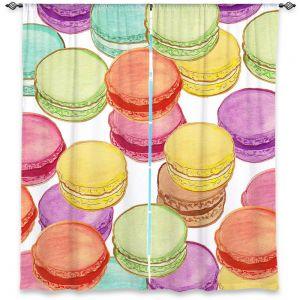 Decorative Window Treatments | Diana Evans Laduree Macaroons II
