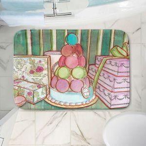 Decorative Bathroom Mats | Diana Evans - Laduree Window Shopping II