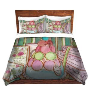 Artistic Duvet Covers and Shams Bedding | Diana Evans - Laduree Window Shopping II