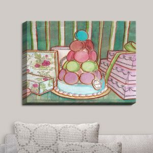 Decorative Canvas Wall Art | Diana Evans - Laduree Window Shopping II