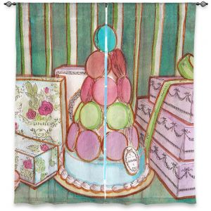 Decorative Window Treatments | Diana Evans Laduree Window Shopping II