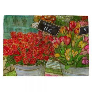 Decorative Kitchen Placemats 18x13 from DiaNoche Designs by Diana Evans - The Paris Flower Shop
