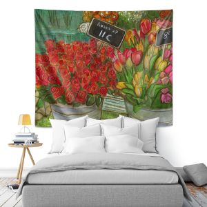 Artistic Wall Tapestry | Diana Evans The Paris Flower Shop