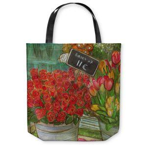 Unique Shoulder Bag Tote Bags   Diana Evans The Paris Flower Shop