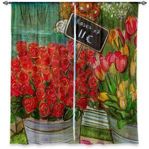 Decorative Window Treatments | Diana Evans The Paris Flower Shop