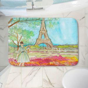 Decorative Bathroom Mats | Diana Evans - Vintage Paris