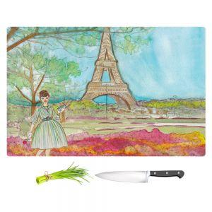 Artistic Kitchen Bar Cutting Boards | Diana Evans - Vintage Paris