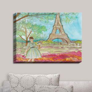 Decorative Canvas Wall Art | Diana Evans - Vintage Paris