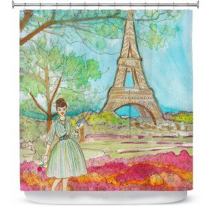 Premium Shower Curtains | Diana Evans Vintage Paris