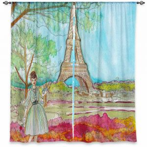 Decorative Window Treatments | Diana Evans Vintage Paris