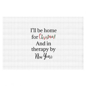 Decorative Floor Covering Mats | DiaNoche Art - Christmas Holiday | Inspiring quotes