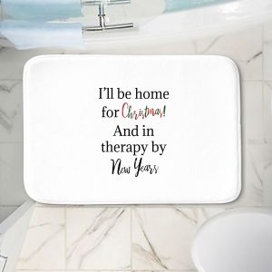 Decorative Bathroom Mats   DiaNoche Art - Christmas Holiday   Inspiring quotes