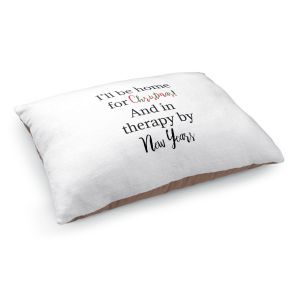 Decorative Dog Pet Beds | DiaNoche Art - Christmas Holiday | Inspiring quotes