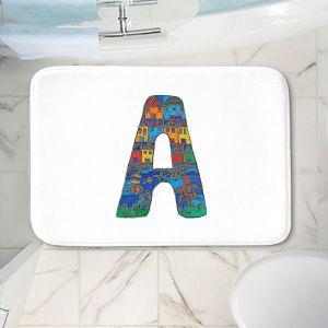 Decorative Bathroom Mats   Dora Ficher - Alphabet Letter A
