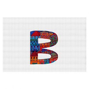 Decorative Floor Coverings | Dora Ficher Alphabet Letter B