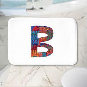 Decorative Bathroom Mats   Dora Ficher - Alphabet Letter B