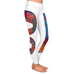 Casual Comfortable Leggings | Dora Ficher Alphabet Letter B