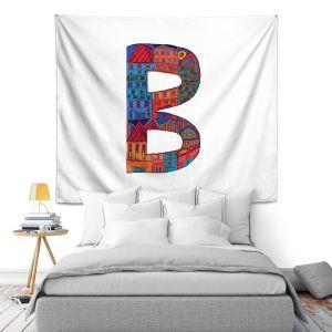 Artistic Wall Tapestry | Dora Ficher Alphabet Letter B